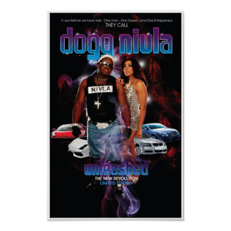 DOGG NIVLA UNLEASHED LIMITED EDITION POSTER