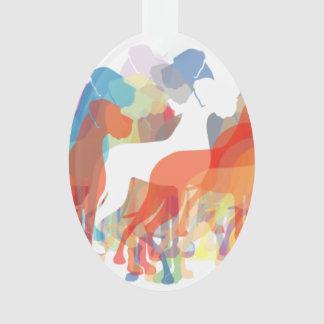Doggenanhänger Ornament
