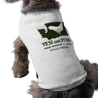 Dogger Shirt! Sleeveless Dog Shirt