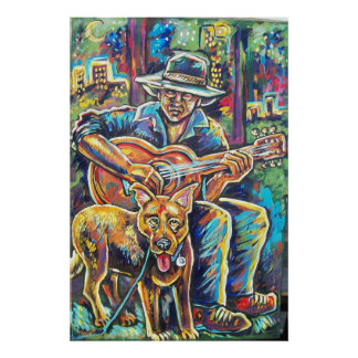 doggie blues poster