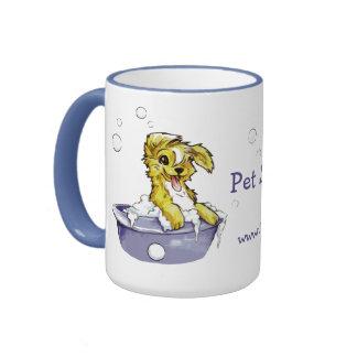 Doggie Bubble Bath Coffee Mugs