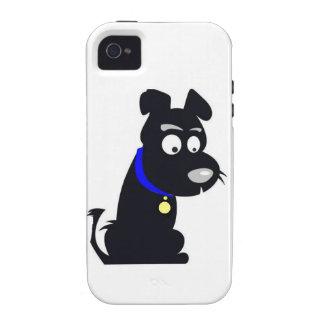 Doggie Cartoon Vibe iPhone 4 Covers