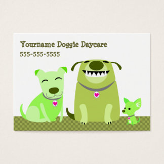 Doggie Daycare/Dog Walker Business Card