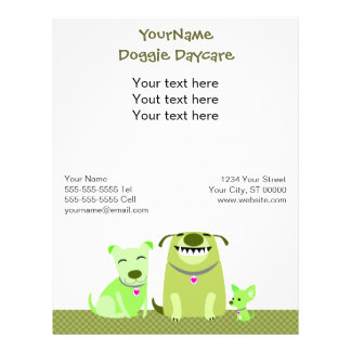 Doggie Daycare/Dog Walker Promotional Flyer