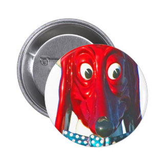 Doggie Diner Dog Head 1960 Buttons