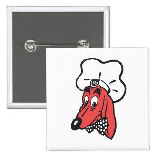 DOGGIE DINER Logo Magnet 15 Cm Square Badge