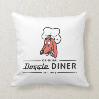 Doggie Diner Pillow