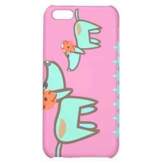 Doggie Dog i pink iPhone 5C Cases