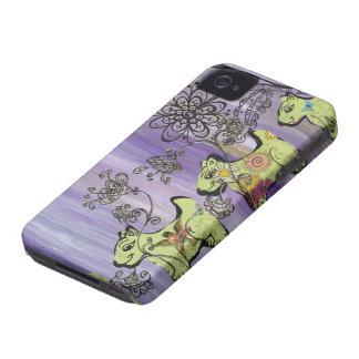 Doggie Garden iPhone 4 Case-Mate Case