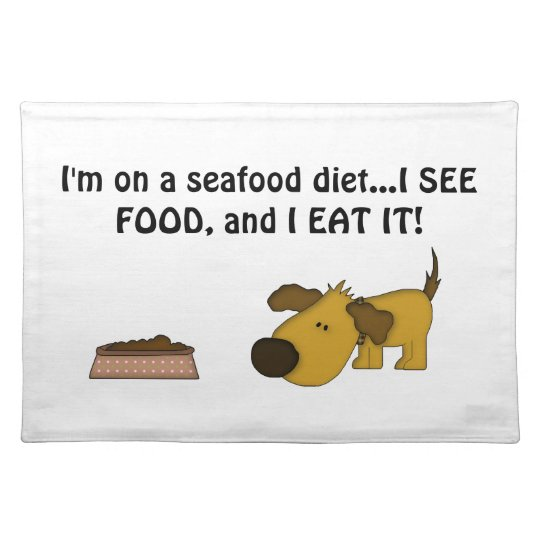 Doggie Humour-Cute Puppy Placemat