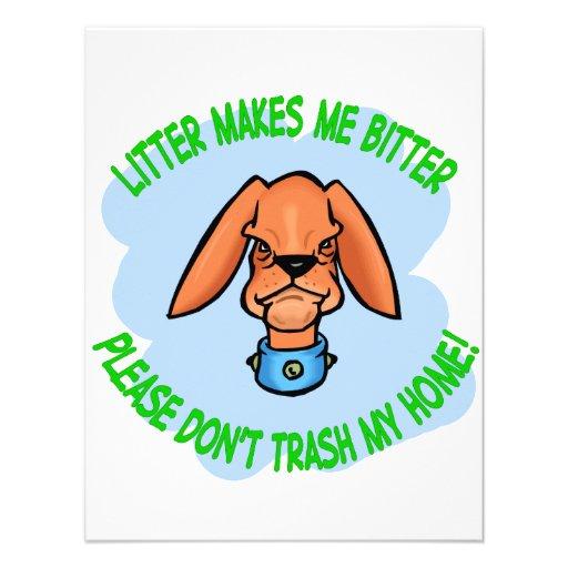 doggie personalized announcements