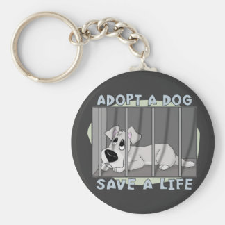 Doggie Jail Keychain