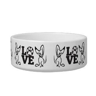 Doggie Love Medium Pet Bowl