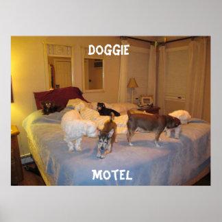 Doggie Motel Poster