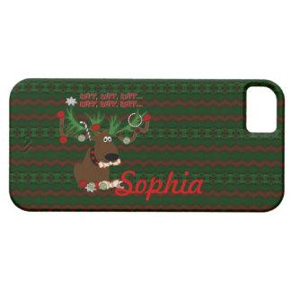 Doggie Reindeer Ruff Ruff iPhone 5 Cases