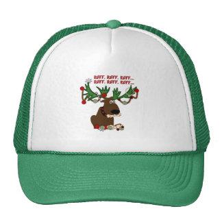 Doggie Reindeer Ruff Ruff Trucker Hat