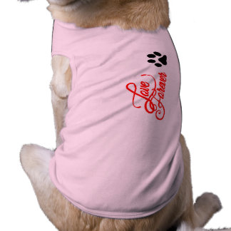 Doggie Ribbed Tank Top love forever