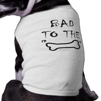 Doggie Ringer T-shirt Sleeveless Dog Shirt