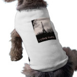 Doggie T-Shirt/Eiffel Tower