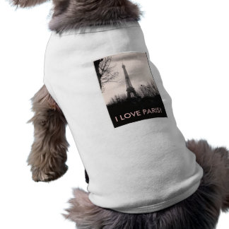 Doggie T-Shirt/Eiffel Tower Shirt