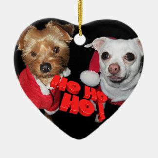 Doggies Christmas wishes Christmas Ornament