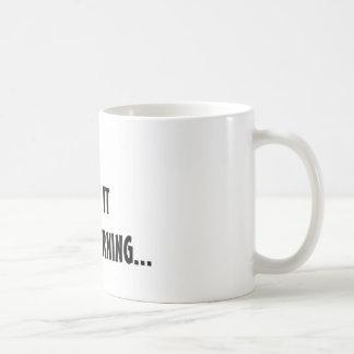 Doggin It Basic White Mug