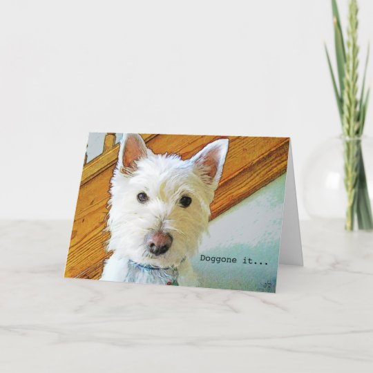 Happy Birthday Card Westie Card Zazzle