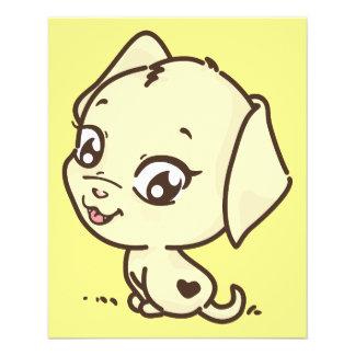 doggy-635410 CUTE CARTOON PUPPY DOG DOGGY ANIMATIO 11.5 Cm X 14 Cm Flyer