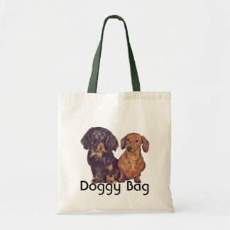 Doggy Bag - Long Haired and Smooth Dachshund