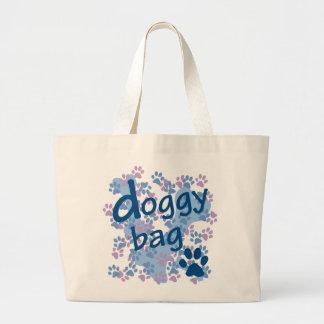 Doggy Bag with bones & paw prints