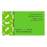 Doggy Bones Double-Sided Standard Business Cards (Pack Of 100)