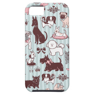 Doggy Boudoir Iphone Case by Fluff iPhone 5 Case