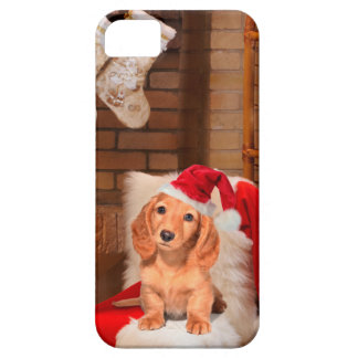 Doggy Christmas iPhone 5 Covers