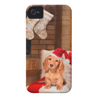 Doggy Christmas iPhone 4 Case-Mate Cases