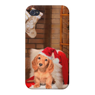 Doggy Christmas iPhone 4/4S Cover