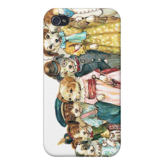 Doggy Family iPhone 4 Case