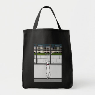 Doggy in the City Window Tote