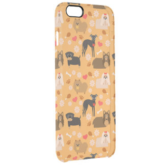 Doggy Lover Pattern iPhone 6 Plus Case