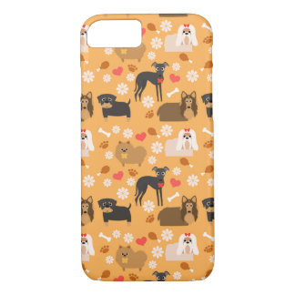 Doggy Lover Pattern iPhone 7 Case
