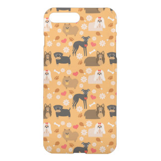 Doggy Lover Pattern iPhone 7 Plus Case