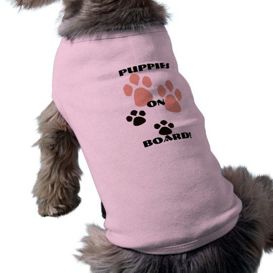 Doggy maternity T shirt