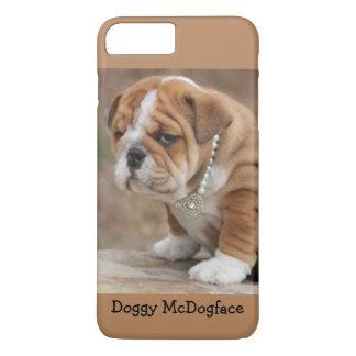 Doggy McDogface English Bulldog iPhone 8 Plus/7 Plus Case