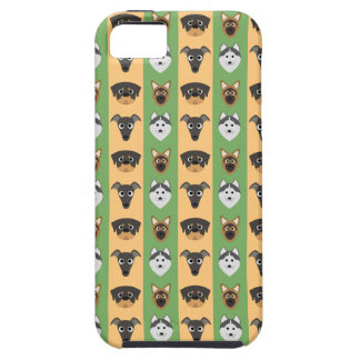 Doggy Stripes iPhone 5 Case