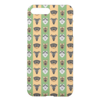 Doggy Stripes iPhone 7 Plus Case