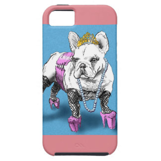Doggy Style (cute french bulldog) iPhone 5 Cover