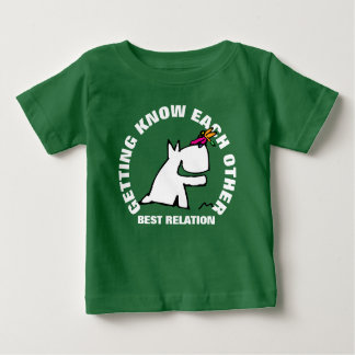 Doggy with Dragonfly Baby T-Shirt
