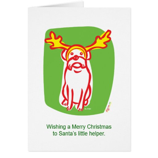 DOGMA reindeer dog Cards