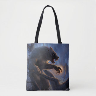 Dogman of Michigan Tote Bag