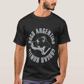DOGO ARGENTINO COUGAR HUNTER T-Shirt