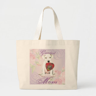 Dogo Heart Mom Large Tote Bag
